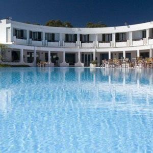 Hotel Flamingo Resort Sardinia, Santa Margherita di Pula, Sardinia South, 4-stars hotel on the sea