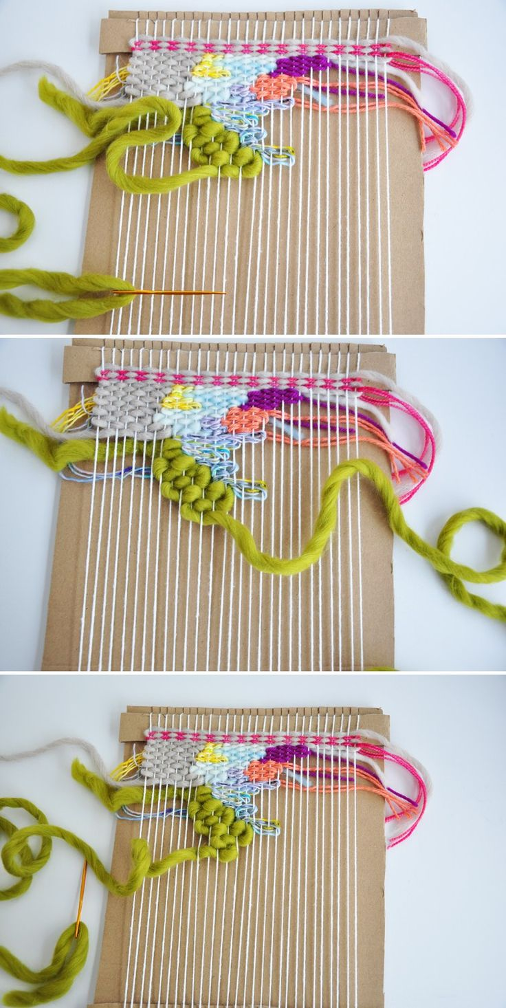 How to doodle weave
