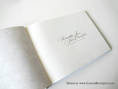 Beautiful Guestbooks - Canvas Stationery Boutique
