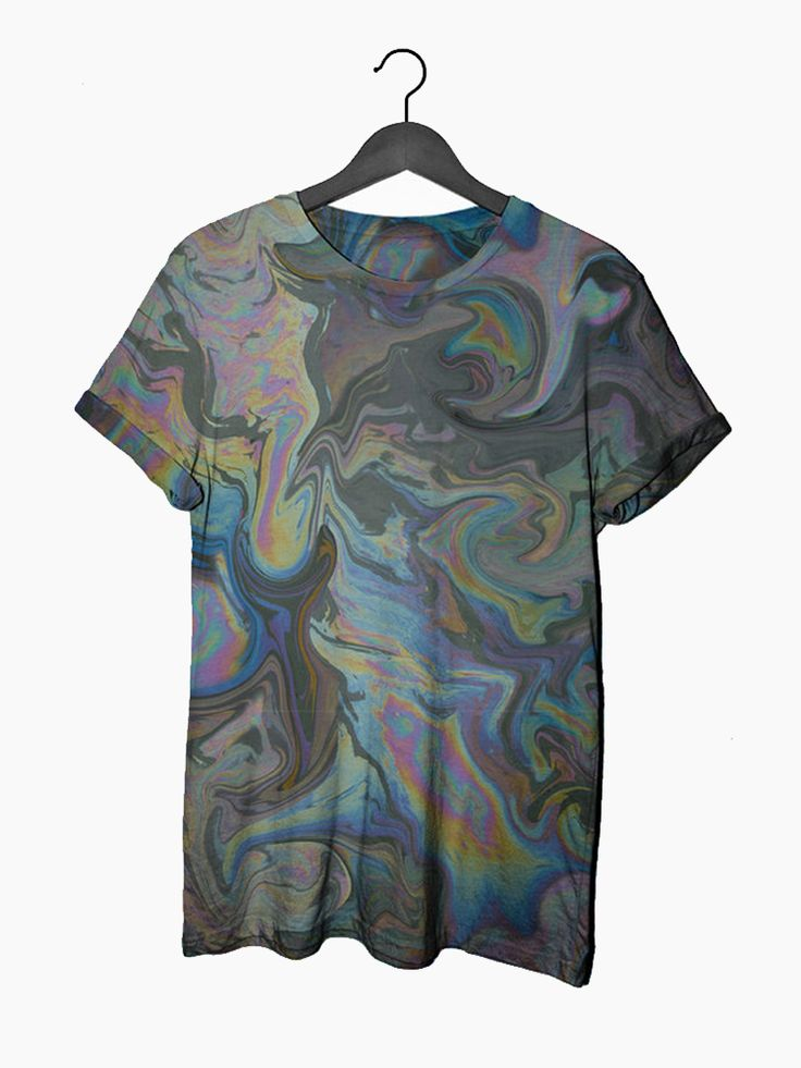 Oil Slick Tee http://shop.nylonmag.com/collections/whats-new/products/oil-slick-tee