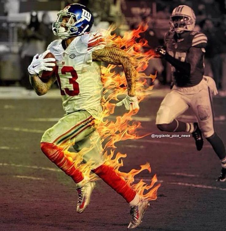 """""""They Can't Stop U, Even If They Stopped U""""  #keepitlikeafastball #GODcantfail #3Xprobowler #BEckhamNLEGENDARY @OBJ"""