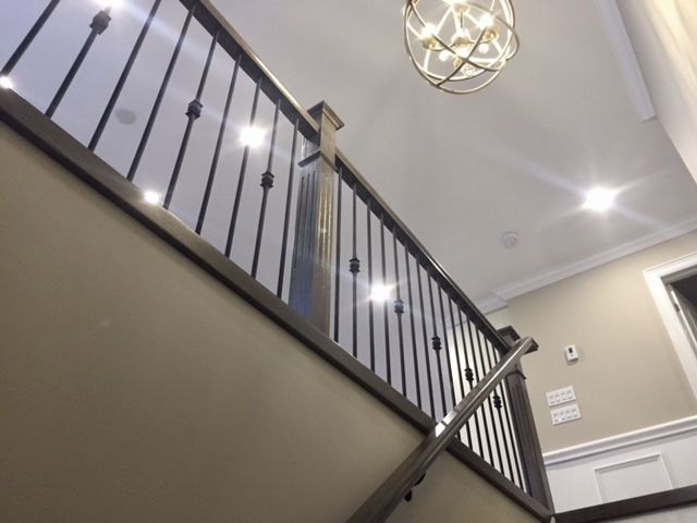 In Our Shop, We Also Produce Prefinished Wood Stair Treads, Railings,  Posts, As Well As Iron And Wood Balusters For Fast Makeovers And We Do Not  Use Any ...