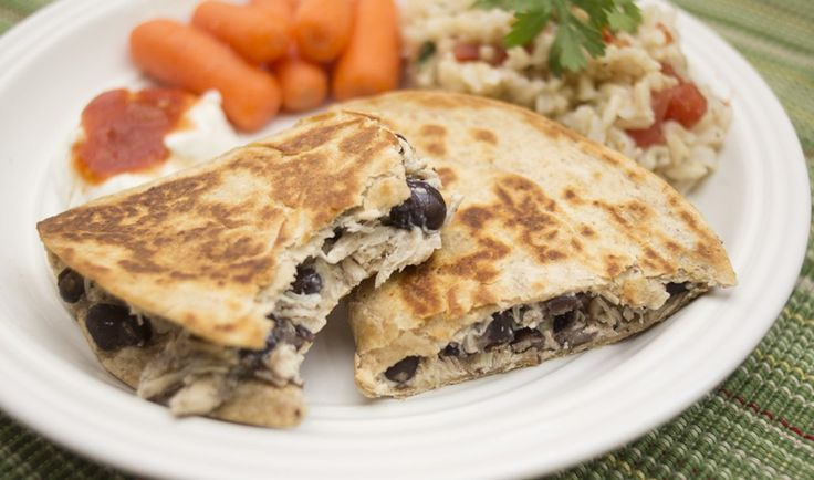 Trim Healthy Mama Black Bean Quesadillas - The Coers Family