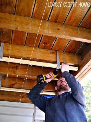 Diy under deck ceiling