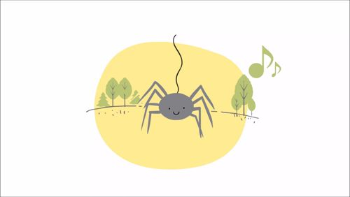 The itsy-bitsy spider Climbed up the water spout Down came the rain And washed the spider out Out came the sun And dried up all the rain And the itsy-bitsy spider Climbed up the spout again  #calisbooks #itsybitsyspider #animation #babybook #nurseryrhymes https://video.buffer.com/v/5a8fb9a0fea4e29023d1cedc