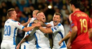 Former Chelsea midfielder Miroslav Stoch struck three minutes from time as Slovakia stunned defending champions Spain 2-1 in a Euro 2016 qualifier in Zilina on Thursday. The central European minnows now top qualifying Group C after this famous victory, although Spain coach Vicente Del Bosque won't be too concerned with qualification a near certainty. It […]