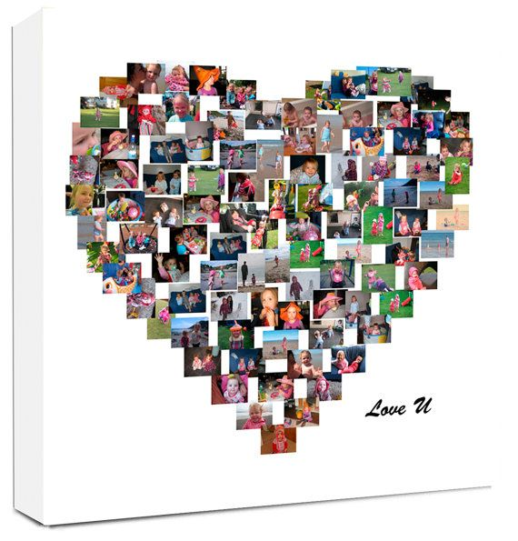 Hey, I found this really awesome Etsy listing at https://www.etsy.com/listing/207511078/heart-shape-photo-collage-on-canvas