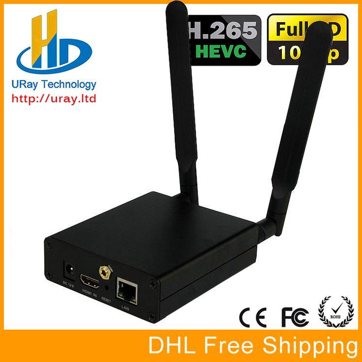 Envío Libre de DHL MPEG-4 AVC/H.264 WIFI HDMI Codificador De Vídeo HDMI IPTV Codificador Codificador H264 Wireless Transmisor de Transmisión En Vivo
