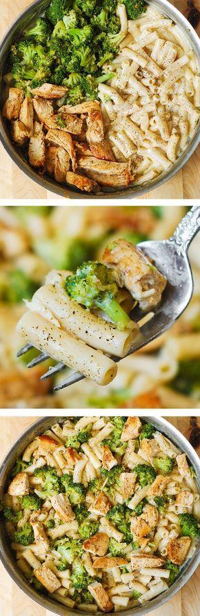 Gute Sauce, Broccoli aber nicht mit Knoblauch anbraten, verbrennt zu schnell!
