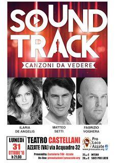 """Claudia Grohovaz: """"Sound Track - canzoni da vedere"""" - Fabrizio Voghe..."""