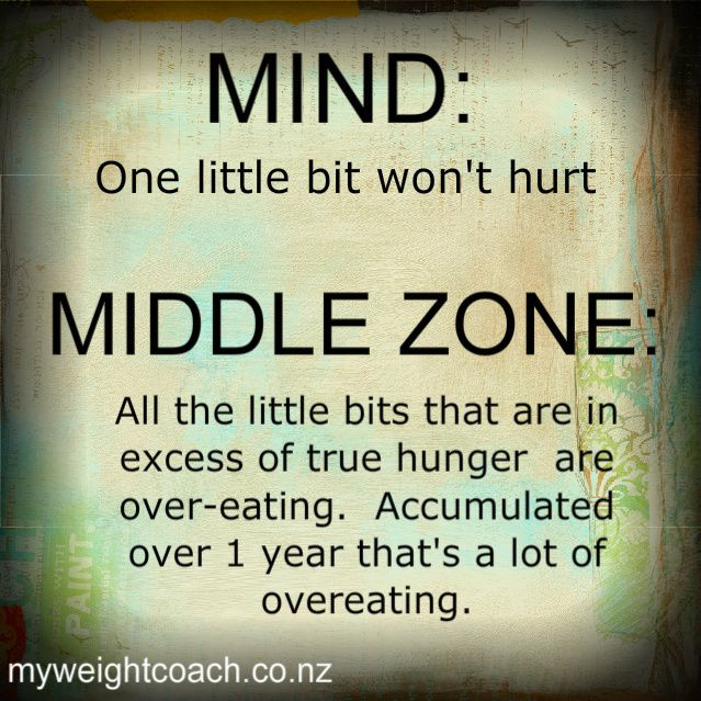 "Learn to access your ""Middle Zone"" free from compulsive eating. http://breakfreeeating.com/"