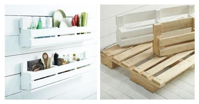 Meble DIY: Półka do kuchni z palety - opis krok po kroku i zdjęcia #PÓŁKA #KUCHNIA #PALETY #DIY #ZRÓB TO SAMA #KROK PO KROKU