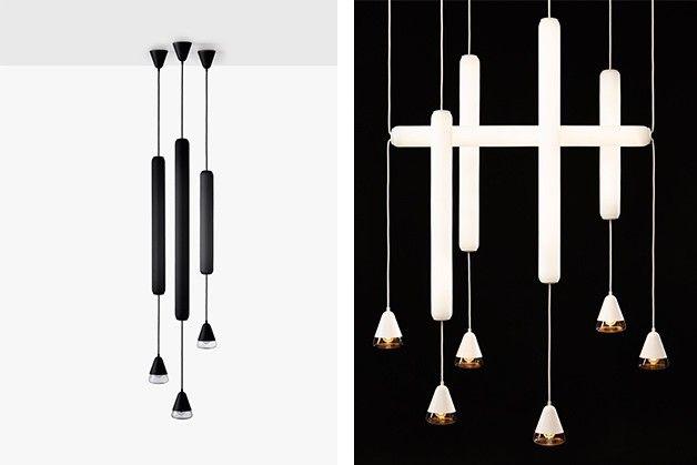 """Kolekce PURO představuje další výraznou, minimalistickou variaci ambientních závěsných svítidel. Název kolekce je odvozen od španělského výrazu pro doutník """"puro"""" a zároveň jím vystihuje čistý design světla."""