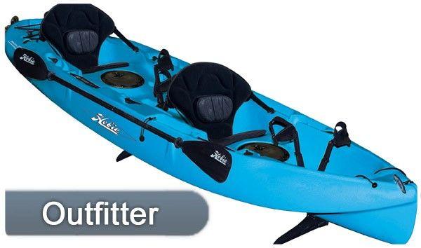 """Hobie Kayak Mirage Outfitter Tandem 12' 8"""""""