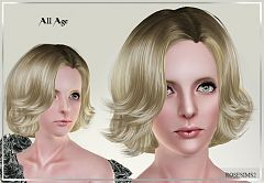 Sims 3 hair, genetics, female, male, all ages