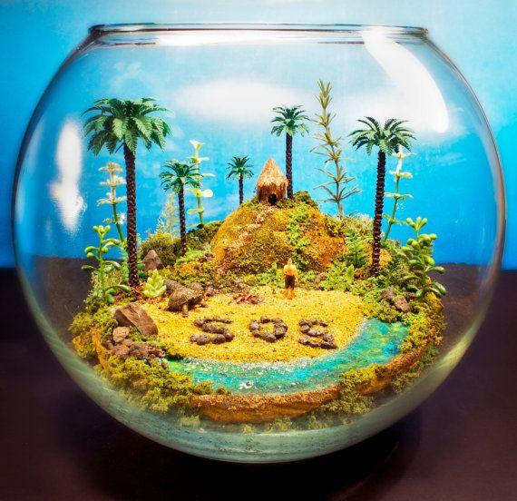 tropical island castaway