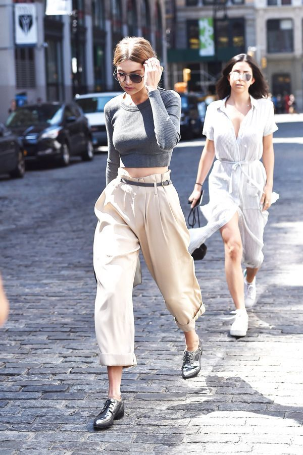 If you're not picking up the Annie Hall vibes Gigi Hadid is throwing down here, then...then just forget it. #refinery29 http://www.refinery29.com/2016/01/102185/gigi-hadid-style-pictures#slide-3