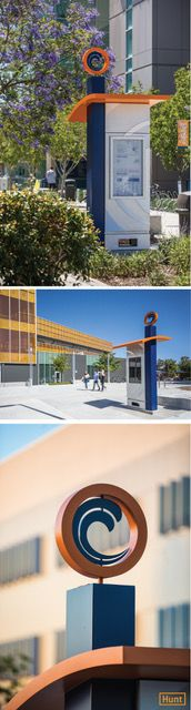 Orange Coast College - Signage & Wayfinding | Hunt Design