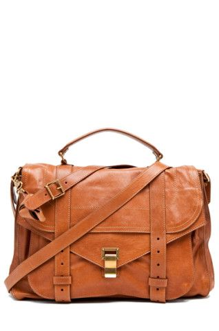 Proenza Schouler | X-Large PS1 Leather in Saddle