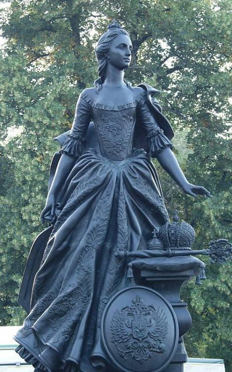 Monument to Catherine the Great in Zerbst