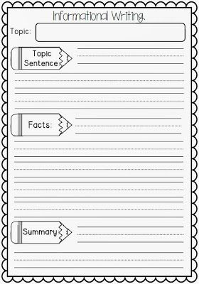 expository writing third grade