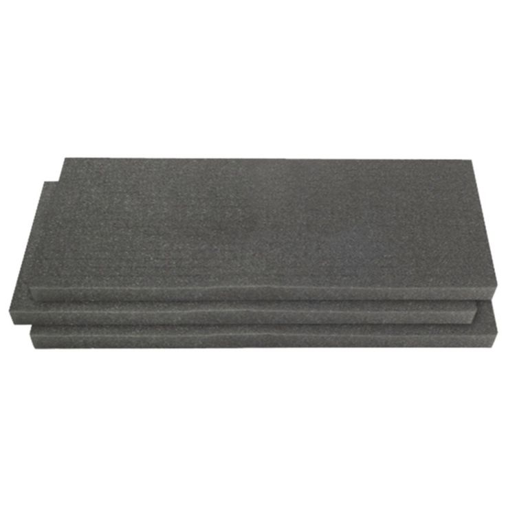 PELICAN 1750-400-000 1751 3-Piece Solid Replacement Foam Set for 1750 Case