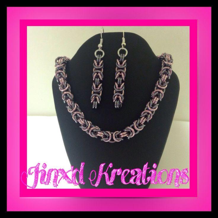 A personal favorite from my Etsy shop https://www.etsy.com/ca/listing/245484700/byzantine-bracelet-earrings