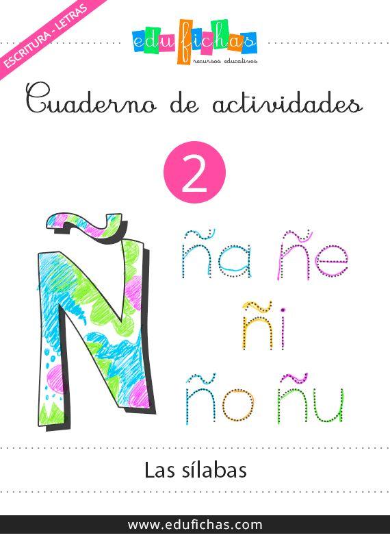 Cuaderno de sílabas gratis  #cuadernos #silabas #worksheets #spanish #niños #infantil #actividades #pdf  http://www.edufichas.com/descargas/cuadernillos/escritura-letras/cuadernillo-de-silabas/