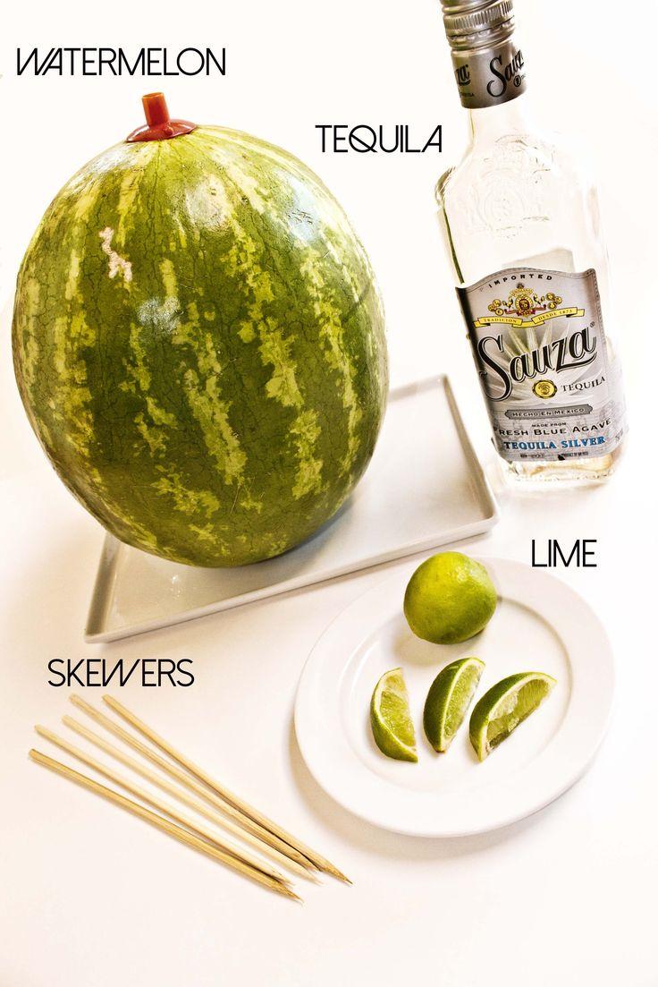 Watermelon Tequila Shots? Yes, please!