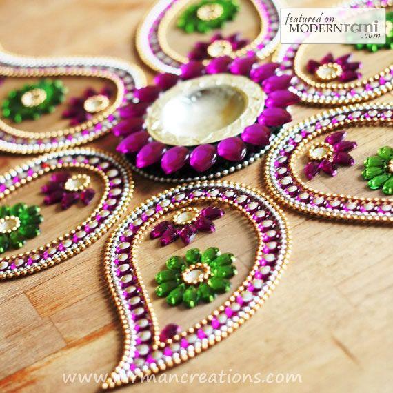 Indian Wedding Decor #indian #wedding #decor #southasian #rangoli