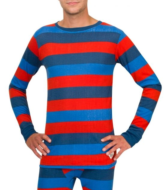 Bodyheat Men´s Long Sleeve Stripy