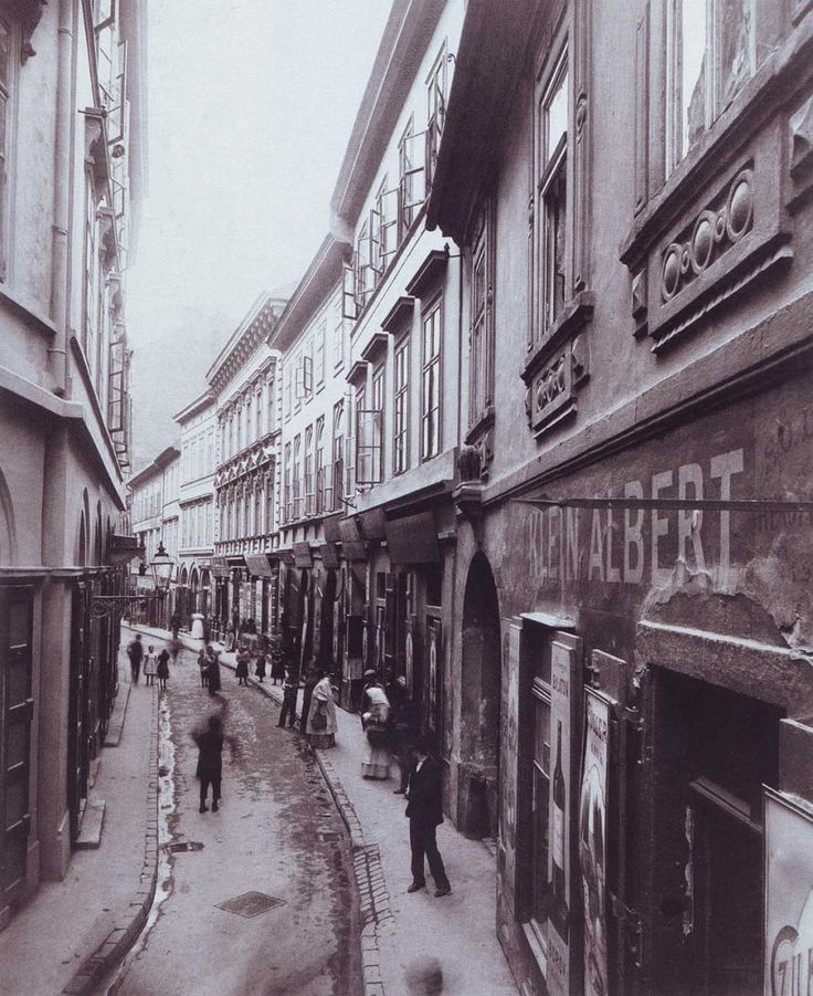 1880 táján, Fehér hajó utca, 5. kerület