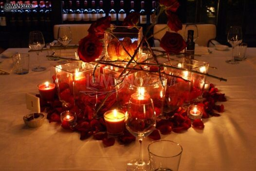 17 best images about idee per matrimoni in rosso on for Candele matrimonio