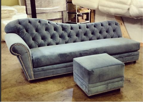 How To Do Parisian Chic   A tufted chaise lounge chair with matching ottoman just evokes visions of a stylish and sophisticated Parisian parlor. Its classic silhouette and historic feel notwithstanding, elegant pieces of furniture like these belong in any contemporary home.