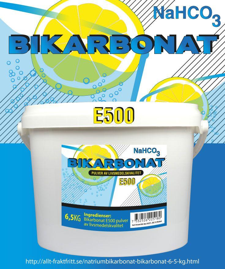 Natriumbikarbonat (Bikarbonat) pulver av livsmedelskvalitet