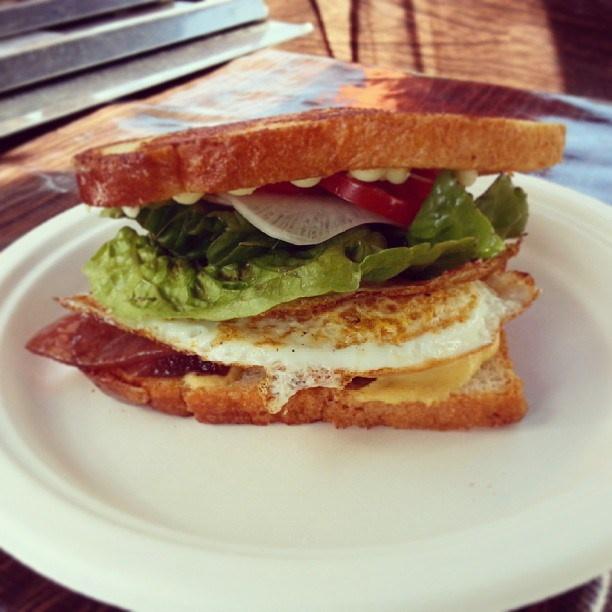 Egg Sando from Namu Gaji at Off the Grid - Picnic at the Presidio (San Francisco, CA) via Casual Details