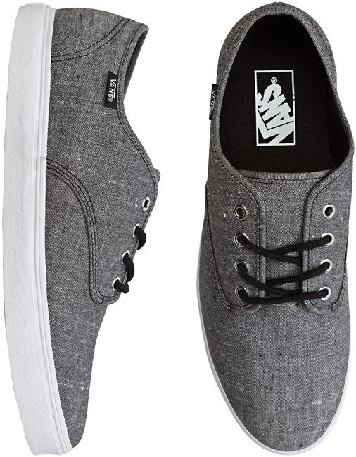 grey vans shoes mens