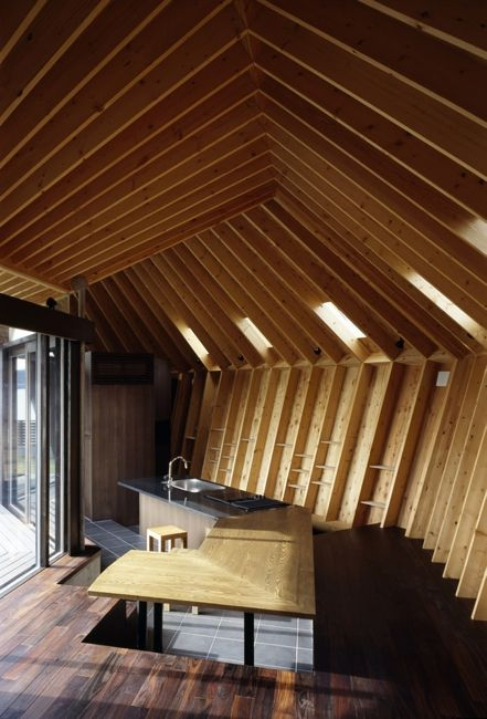 House And Kitchen Design By Takeshi Hirobe Architects