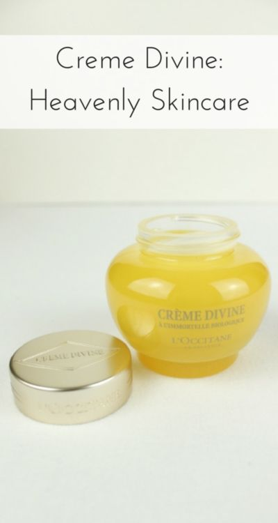 L'Occitane Creme Divine is a heavenly little pot of moisturiser that turns skincare into something more luxurious - read my review (sponsored)