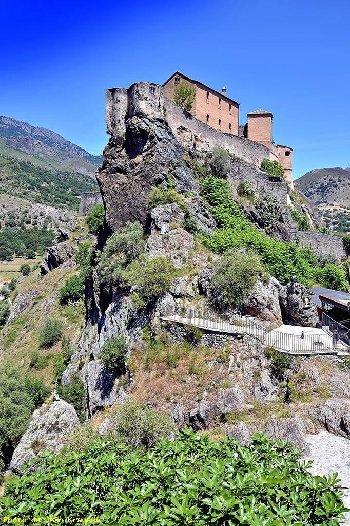 La citadelle, Corte (Haute Corse) de Jean Krausse