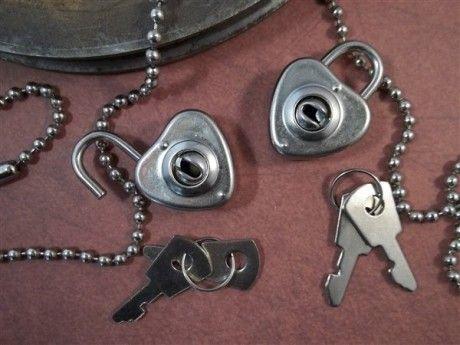 Miniature Silver Heart Shaped Locks (#HD003-P)– ButterBeeScraps.com