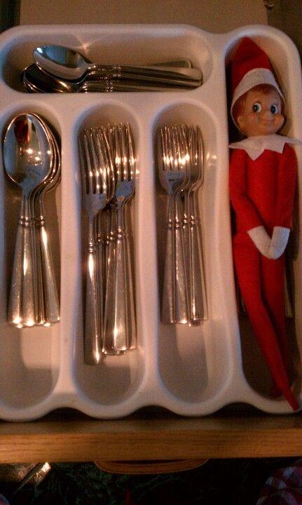Elf on the Shelf Idea