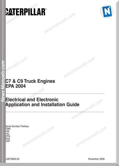 caterpillar c7 c9 truck engine electrical electronic | wiring diagram |  truck engine, trucks v� skid steer loader