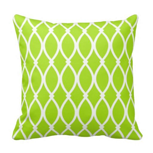 Decorative Pillows For Bed Green : 45 best images about Lime Green Duvet Cover on Pinterest Egyptian cotton, Jonathan adler and ...
