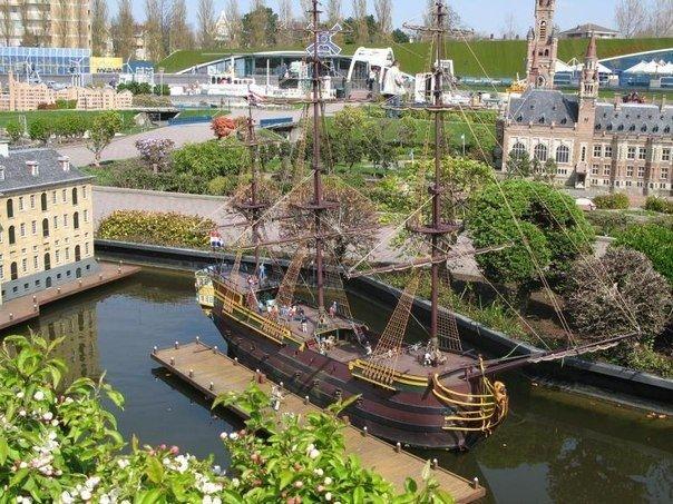 Нидерланды в миниатюре в парке Мадюродам, Гаага. - Путешествуем вместе
