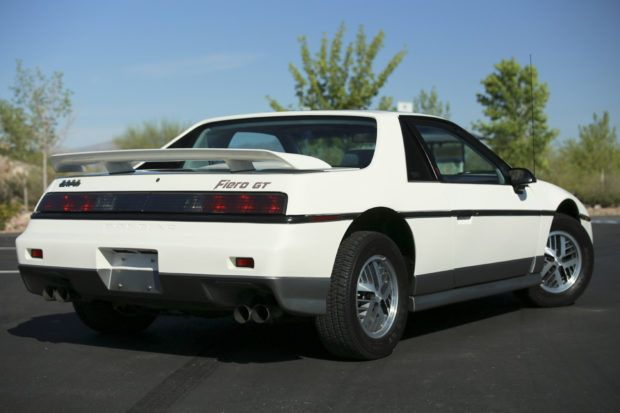 4600-Mile 1985 Pontiac Fiero GT 4-Speed