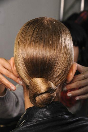 Elegant bridesmaids hair!