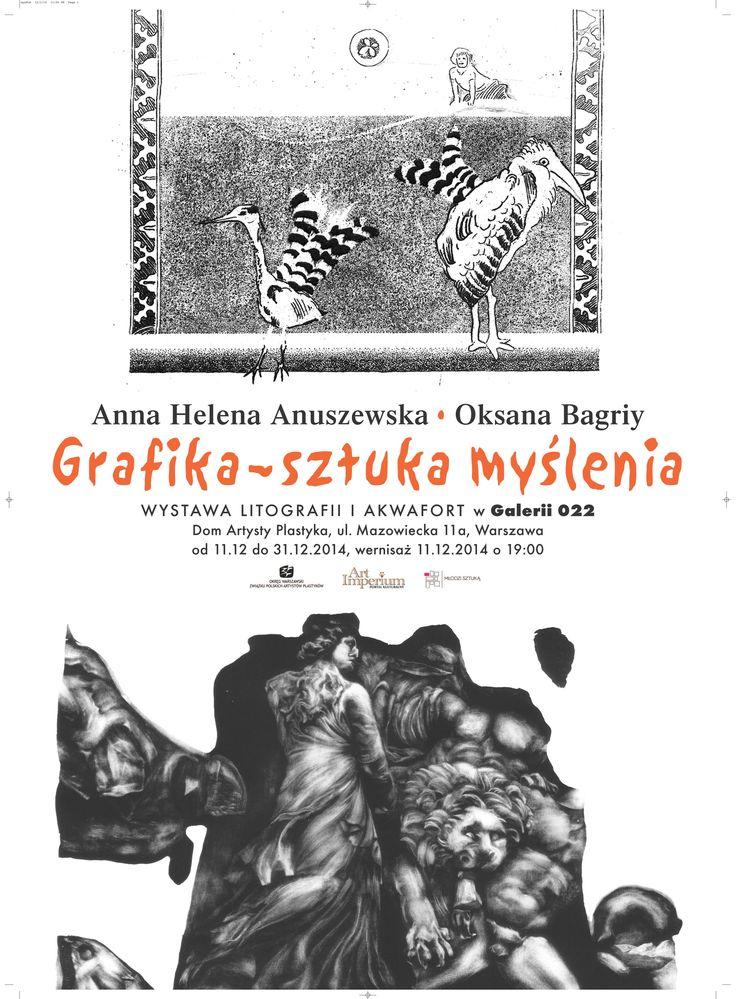 Grafika - sztuka myślenia - Anna Helena Anuszewska, Oksana Bagriy