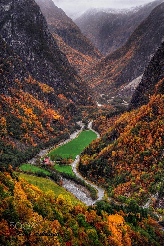 Nærøydalen (near Bergen, Norway) by Rune Askeland on 500px