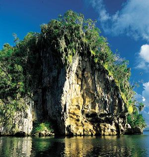 Dominican Republic: Los Haitises National Park In The  Dominican Republic- mangrove swamps, islets and caves, hiking mt biking, horseback riding,